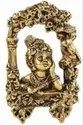 Gold Plated Krishna Key Holder For Home & Corporate Gift