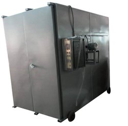 Electric 200 degree Cabinet Industrial Oven, For Metal Conditioning, Capacity: 200kg