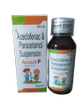 Avuset - P Kid  Aceclofenac 50mg+ Paracetamol 125mg With Monocarton  60ml