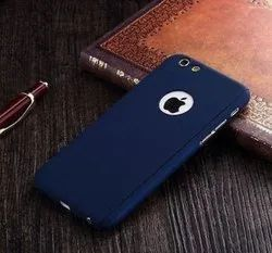 TUZECH Plastic iPhone 360 Smart Case with Logo Visible + Free Temper-Guard, Packaging Type: Packet