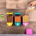 Push Button Storage Containers For Kitchen, Packaging Type: Box