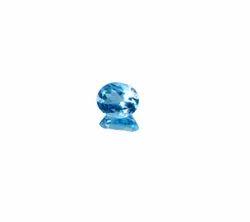 6.02 Carat Blue Topaz Gemstone