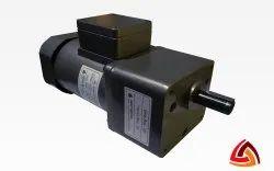 ADEPTMOTORS Flange 180 Watt Induction Geared Motor With Terminal Box, Voltage: 230/415 Vac, 0-500