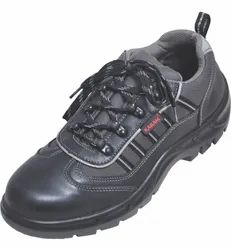 EXECUTIVE SPORTY LACE UP BLACK LEATHER
