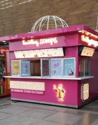 Ice Cream Retail Kiosk