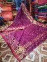 Weaving Work Cotton Silk Saree
