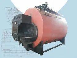 Coconut Shell Fired 2000 Kg/hr Steam Boiler