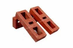 Exposed Perforated Three Square Hole Clay Brick