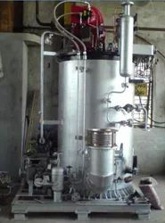 Oil & Gas Fired 100 kg/hr Coil Type Small Industrial Boiler