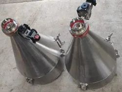 automatic discharge hoppers