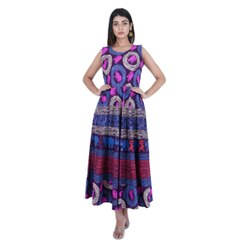 Nepthol Jaipuri Print Women Dress