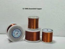 12 SWG Enameled Copper Winding Wire