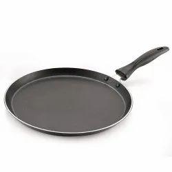 Magnus Optima Non-stick Aluminium Roti/Dosa Tawa 260 Mm, Hammertone Finish, Bakelite Handle
