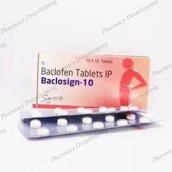 Baclosign 10 Mg Tablets