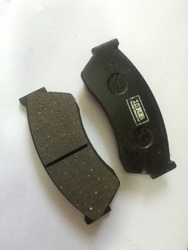 Rubber and Cast Iron Front Car Brake Disc Pad, For Automobile Industry