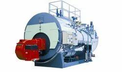 Oil & Gas Fired 900 Kg/Hr Industrial Steam Boiler