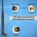 5dBi GSM Rubber Duck Antenna SMA Male Plug Connector