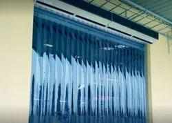 Blue Colour PVC Strip Curtains