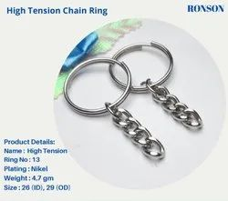 Big Coil Ring/ High Tension Keychain Ring