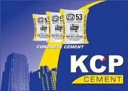 KCP Grey OPC Cement Grade 53, Packaging Size: 50 KG