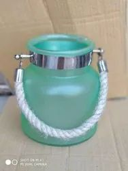 Glass Jar With Rope