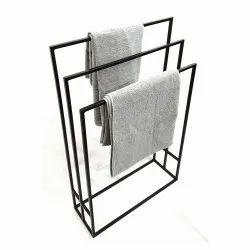 Mild Steel Or Stainless Steel Floor,Ceiling Mount Free Standing Towel Rack
