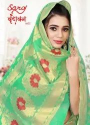Designer Cotton Silk Jacquard Saree