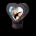 Rotating LED Heart Lamp