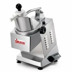 Sirman Vegetable Cutting Machine TM-INOX Blade : 6 Power :515 Watt-0.7 Hp Cap.120-150 Kg/H