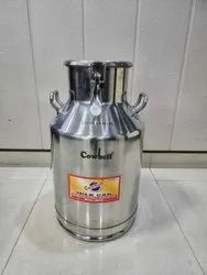 S.S Milk Cans Locking Type 40 Ltr.