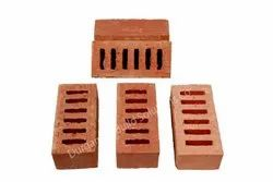 Exposed Perforated Six Hole Clay Brick