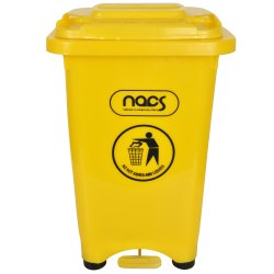 Plastic Waste Bin Pedal Operated Commercial Grade