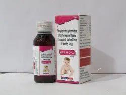 CPM 0.5 mg PCM 125 mg Phenylepherine 5mg Sodium Citrate 60 m