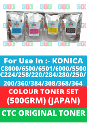 CTC Toner For C224 C258 Color Toner CYMK
