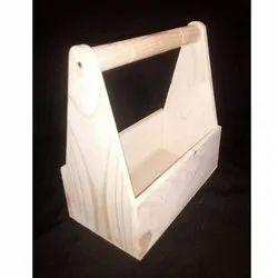 Wooden Pinewood Basket