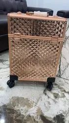 vanity cosmetic trolley with compartment