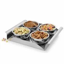 Corporate Gifting Steel Utility Platters