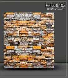 Plastic Drywall Clad 3d Board Embossed Wall Tile 3d Wall Decor, For Home, Size: 30 X 30 Inch