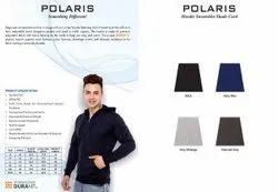 Multicolor Full Sleeves Trophykart Polaris Hoodie Jacket