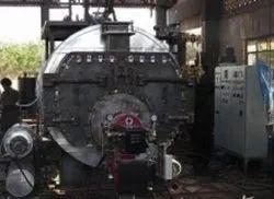 Oil & Gas Fired 750 kg/hr Steam Boiler IBR Approved