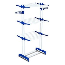 Foldable Jumbo Cloth Drying Stand, Double Poll  Cloth Drying