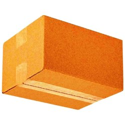 Brown Rectangular Plain Corrugated Carton, Weight Holding Capacity (Kg): >25 kg