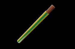 AEROLEX Copper PVC Yellow Green Earthing Cable