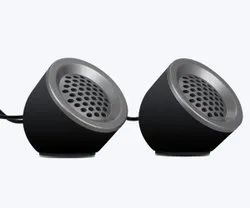 Black Zebronics Zeb-Pluto 2.0 Speaker, 200 G, 3 Ohm