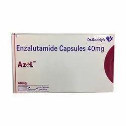 Azel  40 mg Capsule (Enzalutamide)
