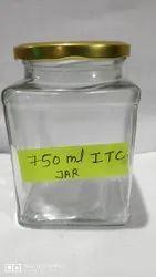 750ml ITC Square Jar