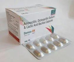 Amoxycillin 250mg Dicloxacillin 250mg Capsules LB