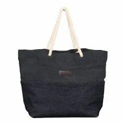 Modern Long Shoulder Length EB 55645 Jute Ladies Bag, Capacity: 8 kg