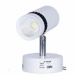 6 Watt White LED Wall Light For Focusing Wall Or Photo Frame