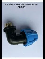 MDPE Brass Mta Elbow 20MM